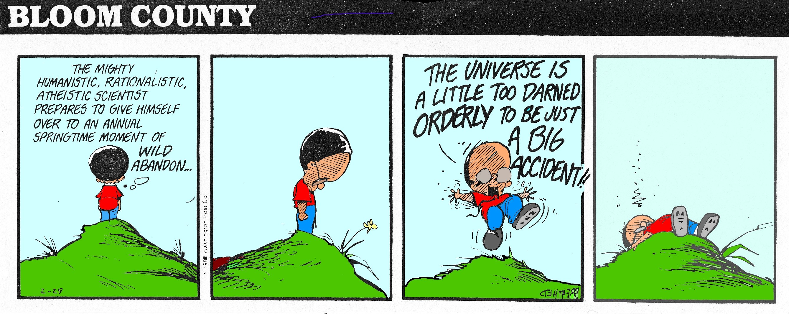 Favorite from Bloom County | 'tween2worlds